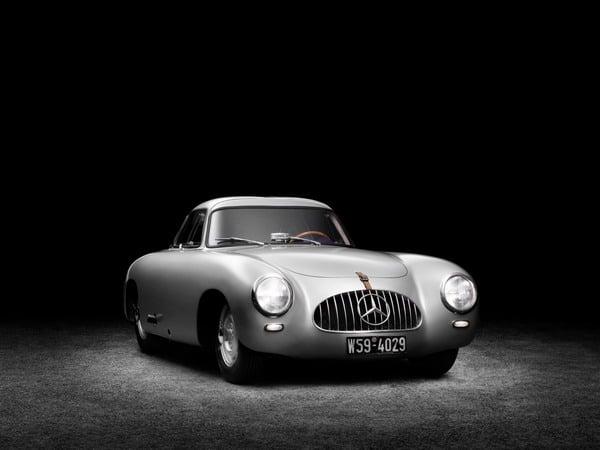 Mercedes-Benz 300 SL del 1952: la numero 2 torna sotto i riflettori al  Salone di Detroit 2