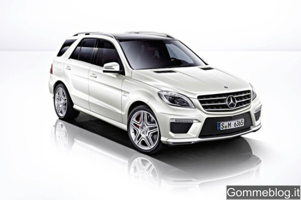 Mercedes ML63 AMG: Assetto e impianto frenante