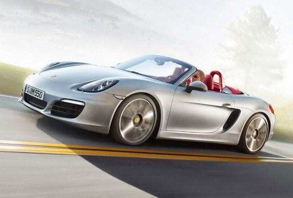 Nuova Porsche Boxster 2012