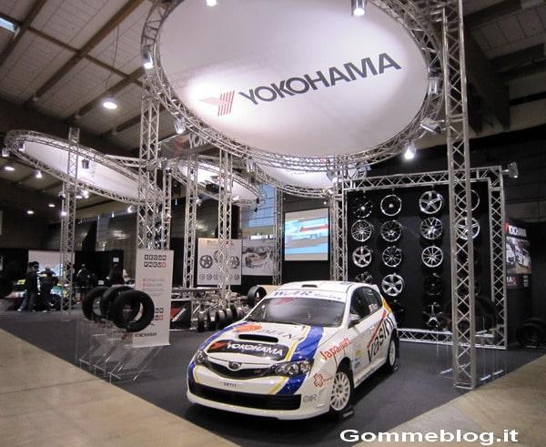 Yokohama novità e modelli Expo Rally Di Brescia 2012