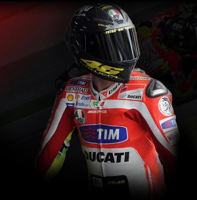 Dainese & AGV in prima fila nel Racing: dalla MotoGP alla SBK 2012