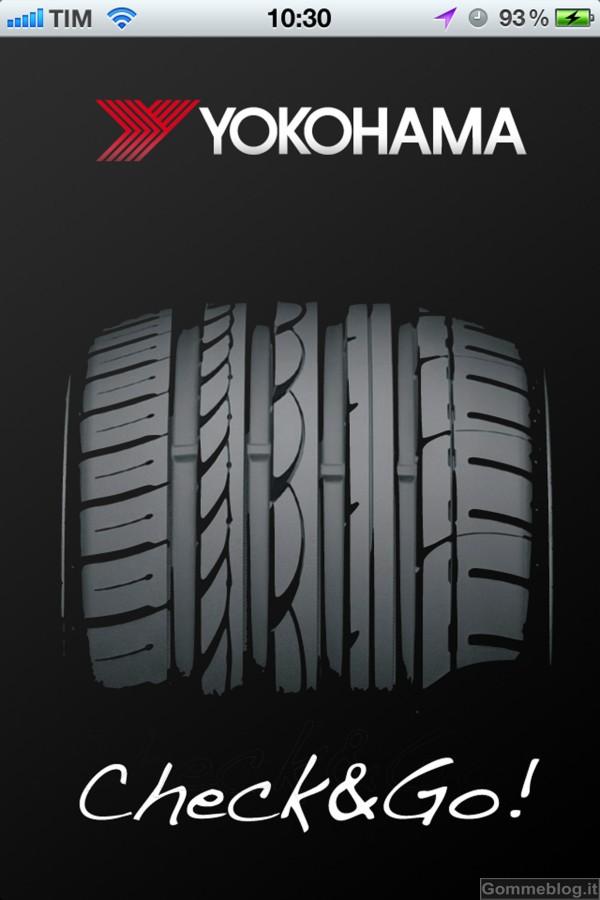 Check&Go By Yokohama: la nuova APP per Iphone dedicata al controllo dei pneumatici