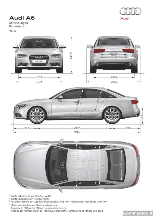 Audi A6: Report Completo su Dotazioni, Tecnica, Equipaggiamenti e Prestazioni 8