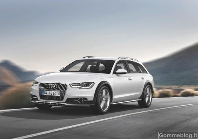 Nuova Audi A6 allroad quattro: prezzi ed allestimenti