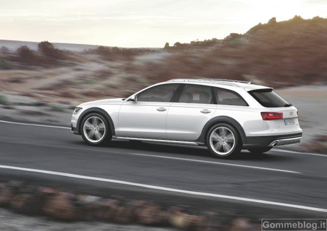 Nuova Audi A6 allroad quattro: prezzi ed allestimenti 2