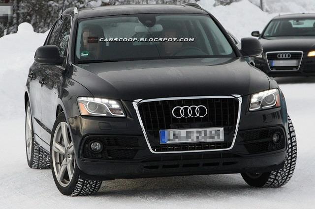 Audi Q5 Restyling: La prima foto spia