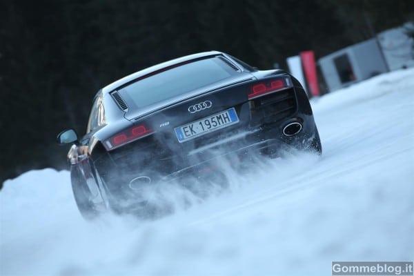 Audi: al via i corsi di guida su neve, pista e off-road