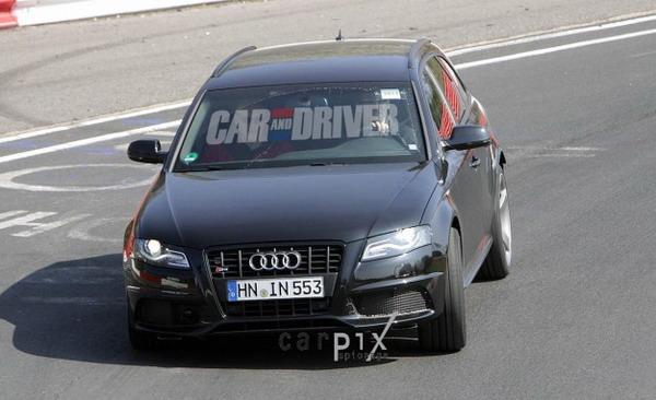 Nuova Audi RS4 2012: la vedremo a Ginevra con 450CV