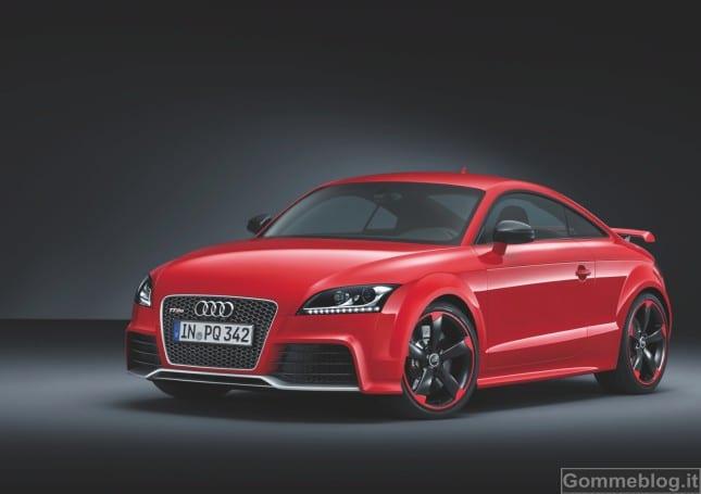 Audi TT RS plus: nuove coupé e Roadster RS ancora più estreme 2