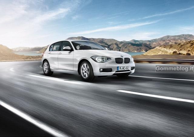Nuova BMW 116d: dinamismo e basse emissioni