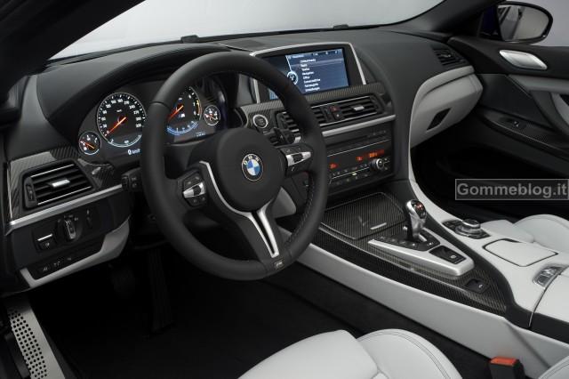 Nuova BMW M6 Coupè e Cabrio: quando bellezza, dinamismo e prestazioni si fondo insieme 7