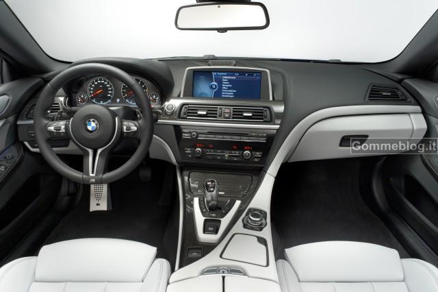 Nuova BMW M6 Coupè e Cabrio: quando bellezza, dinamismo e prestazioni si fondo insieme 12