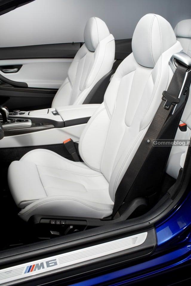 Nuova BMW M6 Coupè e Cabrio: quando bellezza, dinamismo e prestazioni si fondo insieme 11