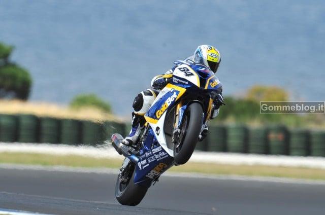 Superbike 2012: i Test BMW Motorrad a Phillip Island