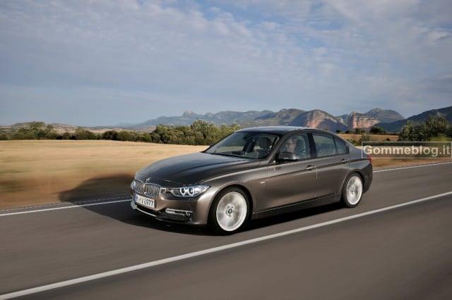 BMW Serie 3 Berlina: al Salone di Ginevra arrivano le 316d e 318d e 320i 2