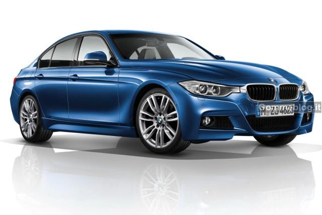 BMW Serie 3 M Sport: anteprima al Salone di Ginevra  2012