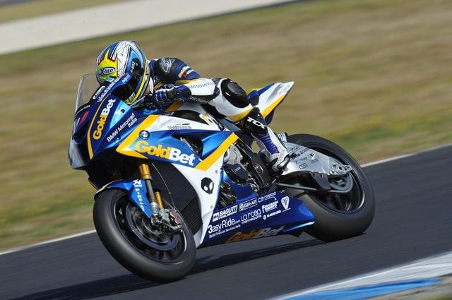 Superbike 2012: concluse le prove a Phillip Island per il BMW Motorrad Italia GoldBet Superbike Team 2
