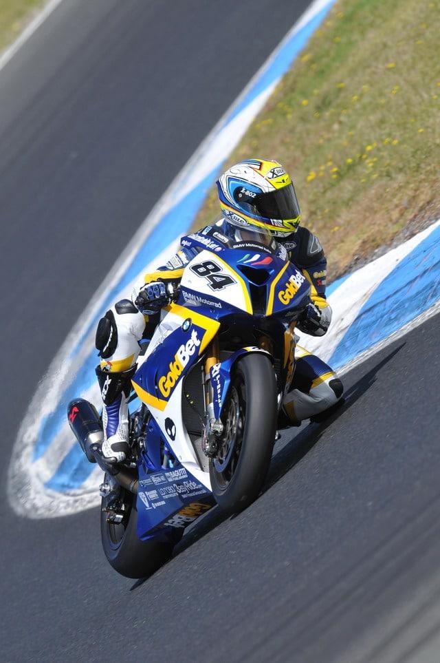 Superbike 2012: concluse le prove a  Phillip Island per il BMW Motorrad Italia GoldBet Superbike Team