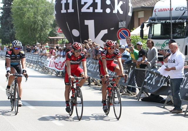 Ciclismo: Ballan si allena in bici sul percorso della gf fi'zi:k Marostica