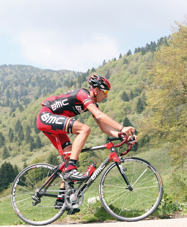 Ciclismo: Ballan si allena in bici sul percorso della gf fi'zi:k Marostica 2