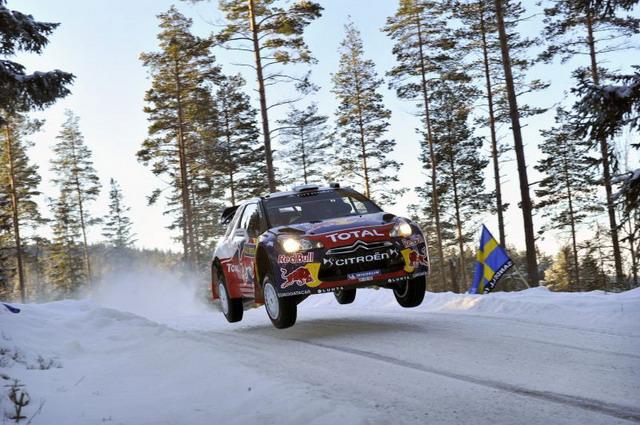 Rally di Svezia 2012: primo podio per Hirvonen su Citroen DS3 WRC