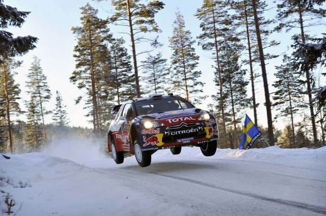 "Rally 2012 Hirvonen: ""la mia Cotroen DS3 WRC mi piace molto"""