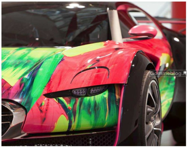 Citroen e l'Arte Retromobile 2012 12