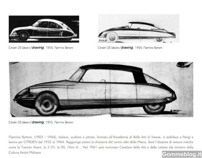 Citroen e l'Arte Retromobile 2012 2