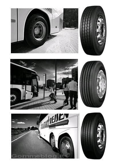 Autobus e pullman: più sicurezza con pneumatici Continental Coach