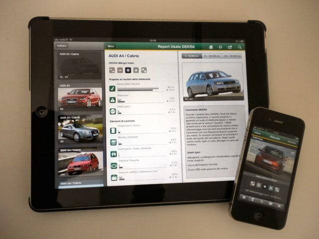 Quanto è affidabile un'auto? Scoprilo con l'App di DEKRA