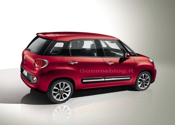 Fiat 500L: la nuova 500 Large si svela in anteprima in video 5