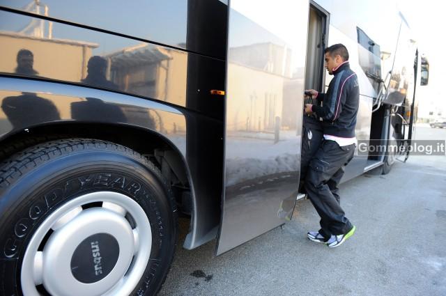 La Juventus viaggia con pneumatici Goodyear Ultra Grip WTD