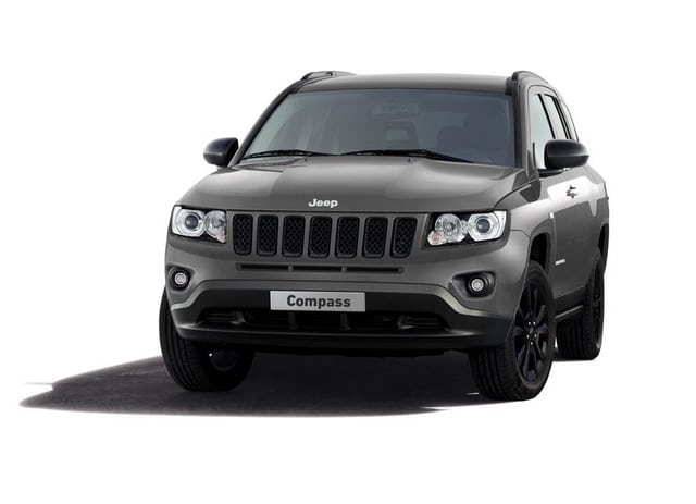 Jeep Compass production-intent concept: 'Black' look per il SUV compatto del marchio Jeep