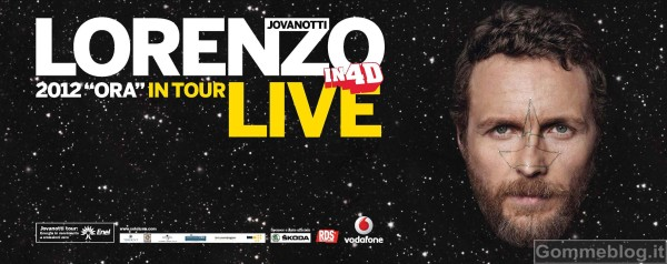 "Jovanotti, ""Ora in tour"" viaggia in Skoda 4"