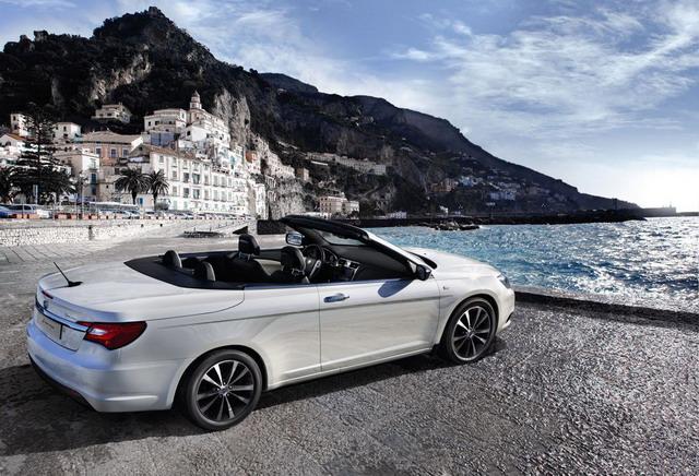 Lancia Flavia Cabrio: debutto mondiale al Salone di Ginevra 2012