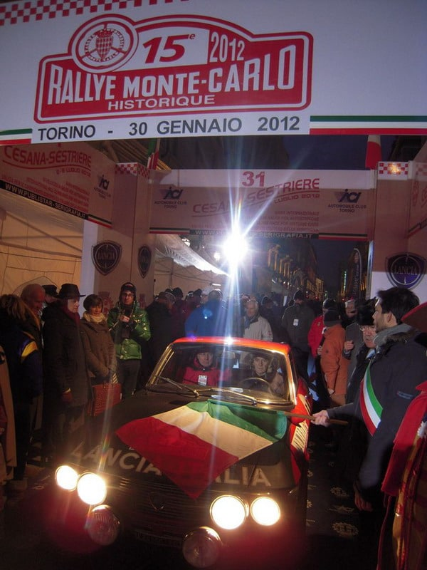 "Lancia Fulvia 1600 HF al ""Rallye Monte Carlo Historique"""