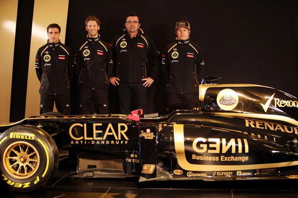 Lotus E20 è la nuova monoposto per la Formula 1 F1 2012 2