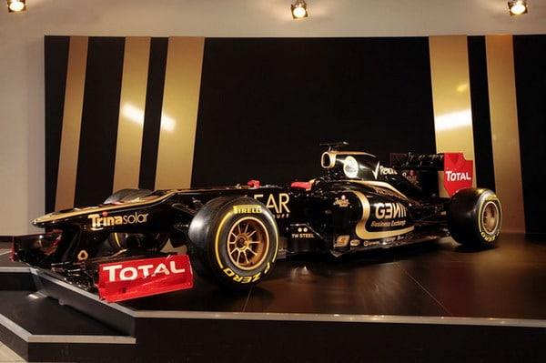 Lotus E20 è la nuova monoposto per la Formula 1 F1 2012