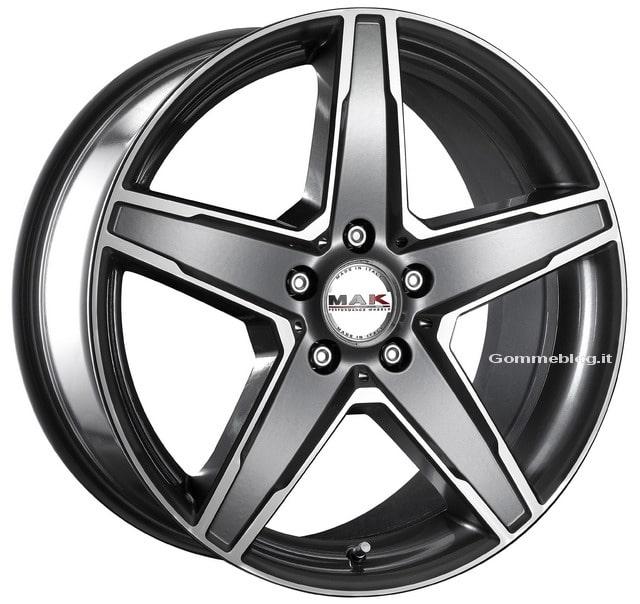 Cerchi in lega MAK Stern: pensati per auto Mercedes 2