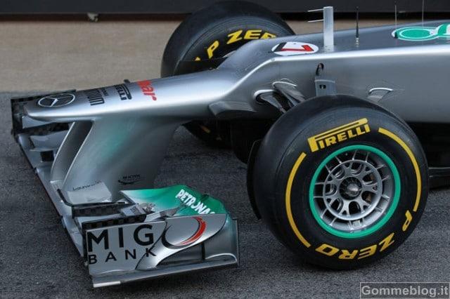 Tecnica formula 1 2012: analizziamo la Mercedes W03 e il suo F-Duct