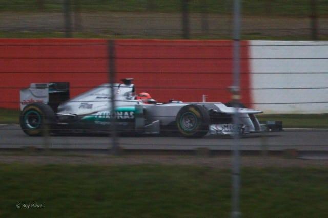 """Formula 1 2012: Svelata la nuova Mercedes .. già soprannominata """"Paperona"""""""