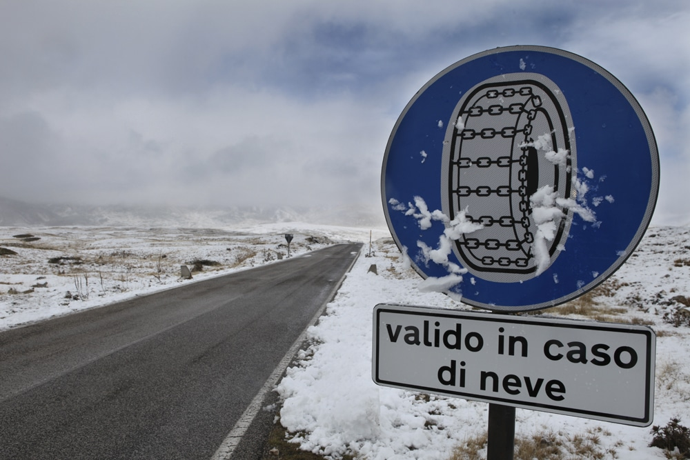 VITERBO: Ordinanze Pneumatici Invernali 2012-2013