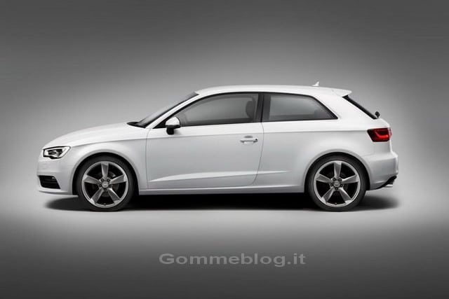 Nuova Audi A3: online le prime Foto Ufficiali 2