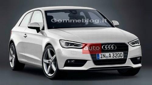 Nuova Audi A3: ecco la prima foto online