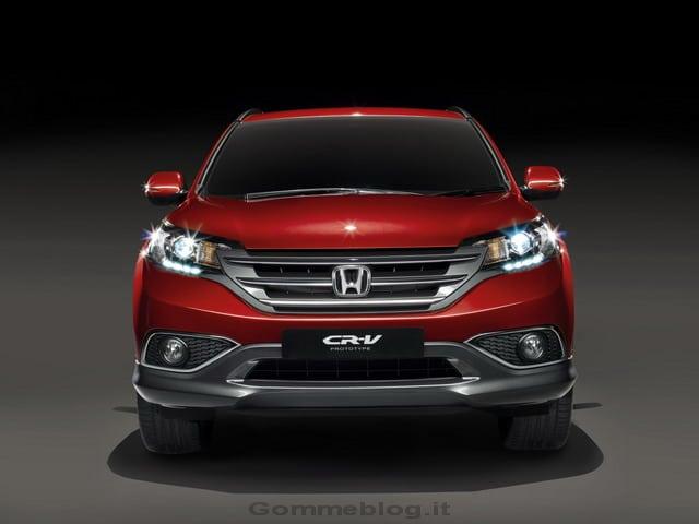 Honda CR-V Concept: le prime immagini ufficiali