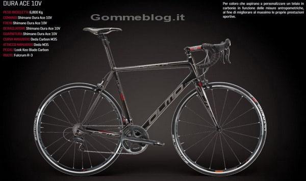 Olmo Personal Dura Ace 10V: Bici da corsa su misura