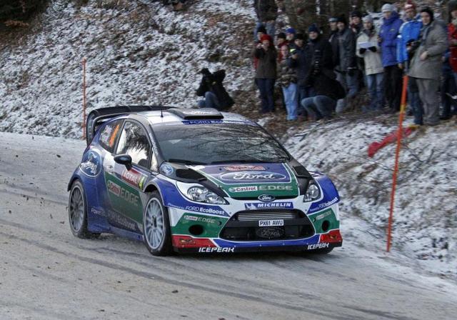 """Rally Messico 2012: Solberg, """"felice al volante della Ford"""""""