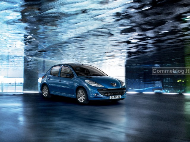 """Peugeot 206 Plus Energie 1.1 Eco Gpl: """"l'auto anticrisi"""" del Leone"""