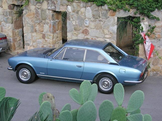 Peugeot ad Automotoretrò: dalla 504 coupé alla RCZ 1