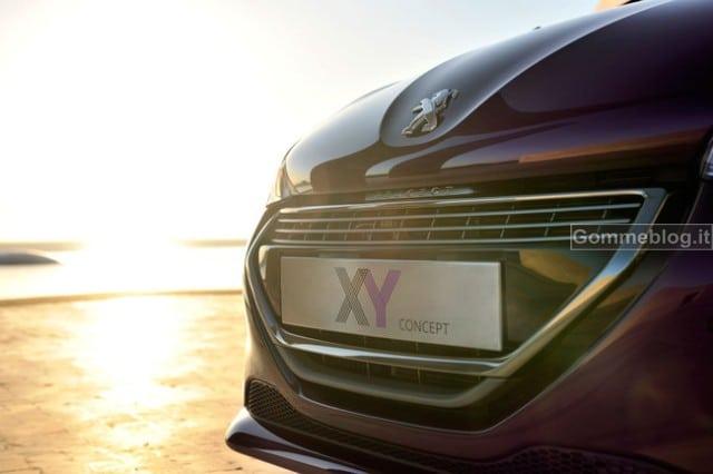 Peugeot XY Concept: esclusiva e urbana 2
